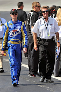 Tom Roberts and Kurt Busch